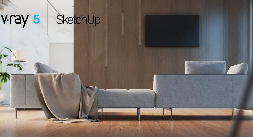 V-Ray 5 for SketchUp: Interiors Masterclass
