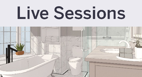 SketchUp KBIS Live Session: Images or Detailed Geometry?