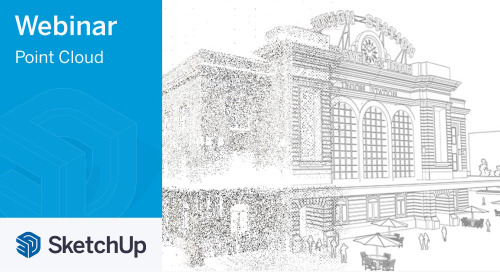 [Webinar] 3D modeling with point cloud data