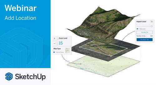 [Webinar] Geo-locate your 3D models in SketchUp