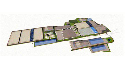 Failed recycling-plant plan turned multi-patented project using BIM workflow