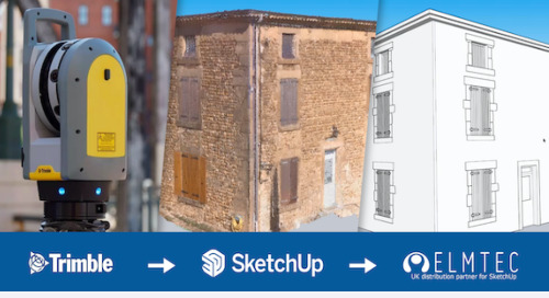 Trimble X7 3D scanner & SketchUp Studio for architecture