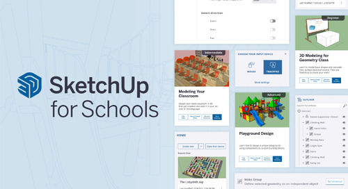 SketchUp for Schools 2021: Take SketchUp to the next level in your classroom