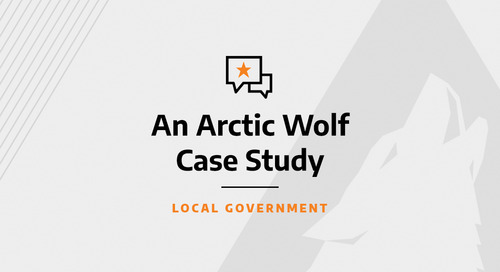 Arctic Wolf Helps Bay Area City Stay Protected and Reduce Cyber Risk