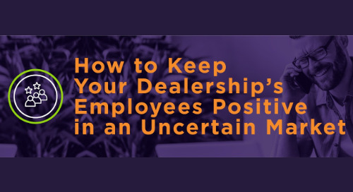 Keep Your Dealership's Employees Positive