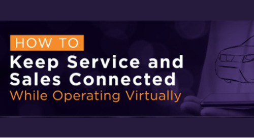How to Keep Sales and Service Connected While Operating Virtually