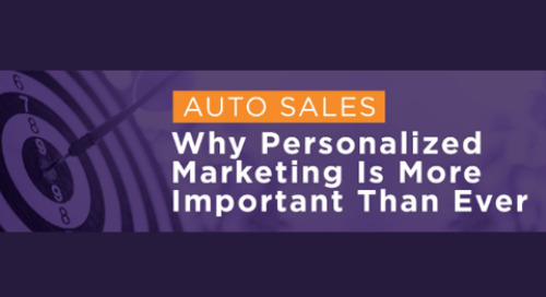 Auto Sales: Why Personalized Marketing Is More Important Than Ever