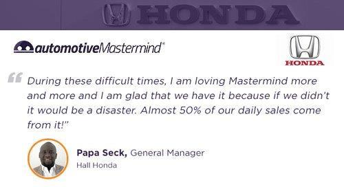 Hall Honda Testimonial