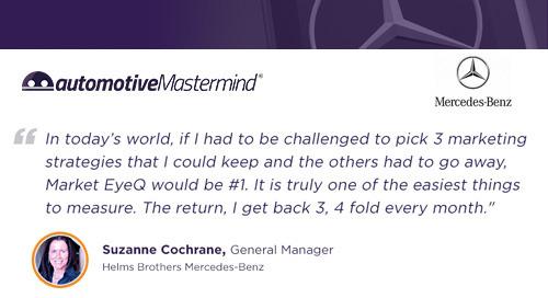 Helms Bros. Mercedes-Benz Testimonial - ROI Every Month