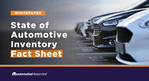 State of Automotive Inventory Fact Sheet