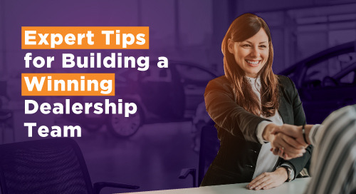 Expert Tips for Building a Winning Dealership Team