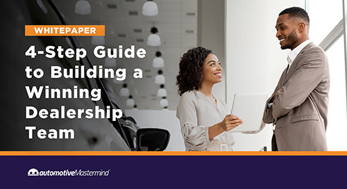 4-Step Guide to Building a Winning Dealership Team