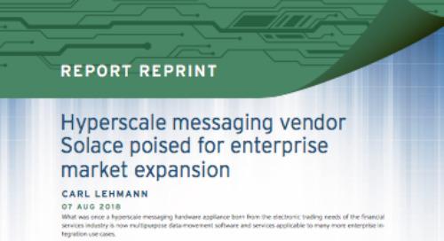 Hyperscale messaging vendor Solace poised for enterprise market expansion