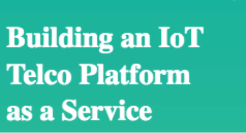 Building an IoT Telco Platform as a Service White Paper