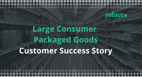 Consumer Packaged Goods Company Customer Success