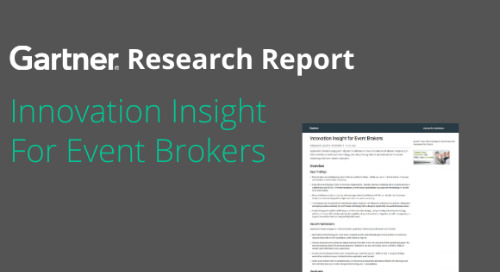 Gartner Report: Innovation Insight for Event Brokers