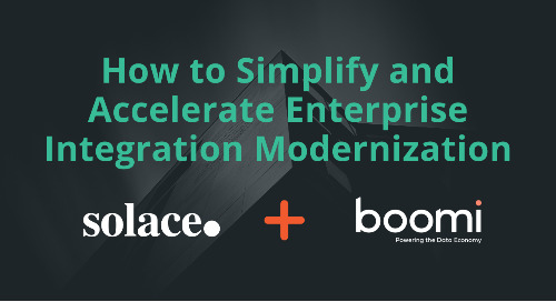 Enterprise Integration Modernization with Boomi and Solace