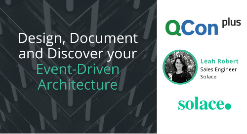QCon Presentation: Design, Document, and Discover your Event-Driven Architecture