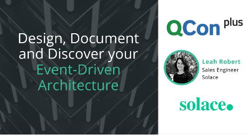 QCon Presentation: Design, Document, and Discover your Event-Driven Architecture