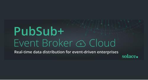 PubSub+ Event Broker Cloud Datasheet