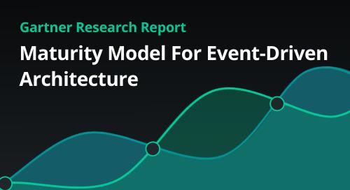 GARTNER: Maturity Model for Event Driven Architecture