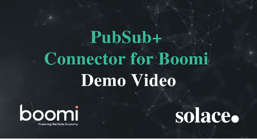 Demo: PubSub+ Connector for Boomi