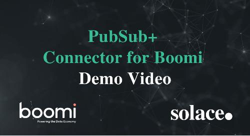 Demo: PubSub+ Connector for Boomi