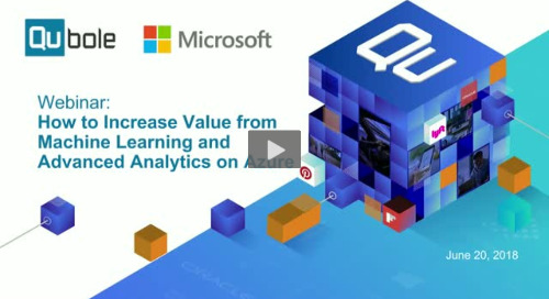 How To Increase Value from Machine Learning and Advanced Analytics on Azure
