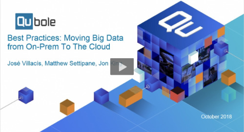 Best Practices for Moving Big Data from On-Prem To The Cloud
