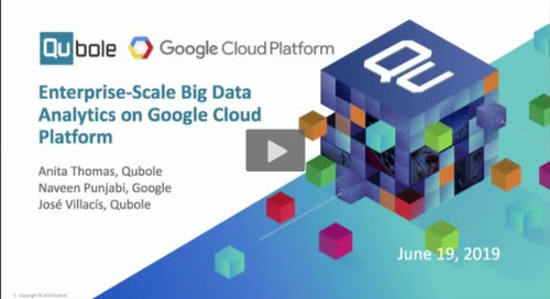 Enterprise-Scale Big Data Analytics on Google Cloud Platform