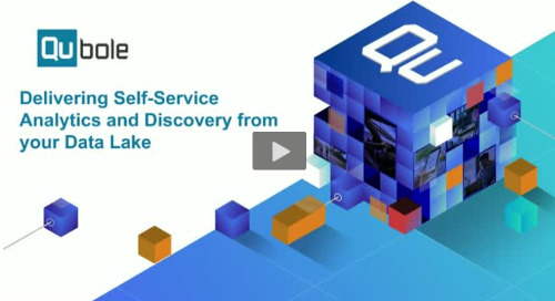 Delivering Self-Service Analytics and Discovery from your Data Lake