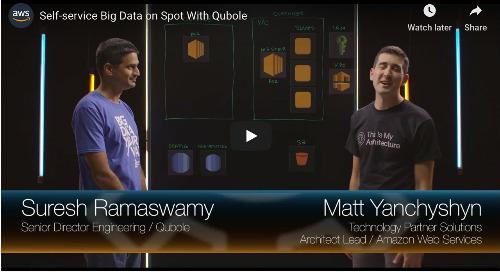 Self-service Big Data on Spot With Qubole