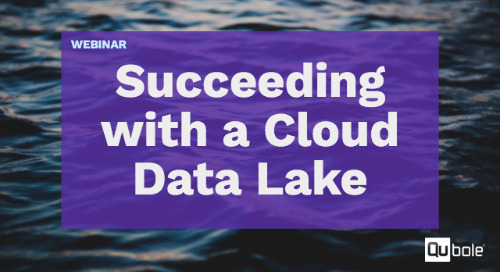 Succeeding with a Cloud Data Lake - from Architecture to Operations