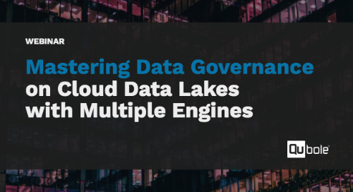 UPCOMING: Mastering Data Governance on Cloud Data Lakes with Multiple Engines