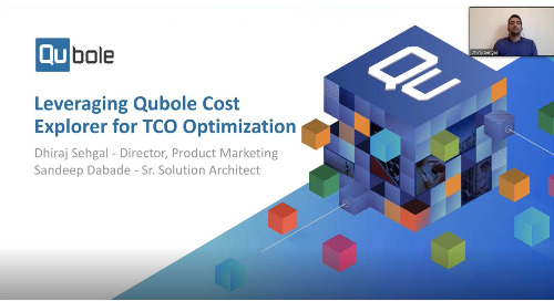 Leveraging Qubole Cost Explorer for TCO Optimization