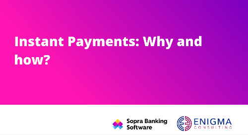 Everything you need to know about Instant Payments.