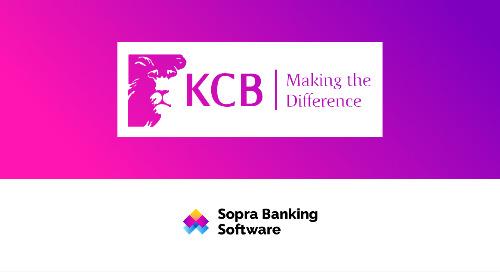 En 2017, la banque KCB de Kenya a collaboré avec Sopra Banking Software pour créer une nouvelle plateforme digitale et primée.