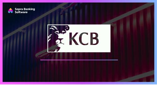 In 2017, KCB Bank Kenya collaborated with Sopra Banking Software to create a new, digital and award-winning platform.