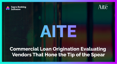 Automation within commercial loan origination