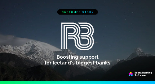 See how Sopra Banking helped RB to onboard and migrate Iceland's three leading banks onto its system.