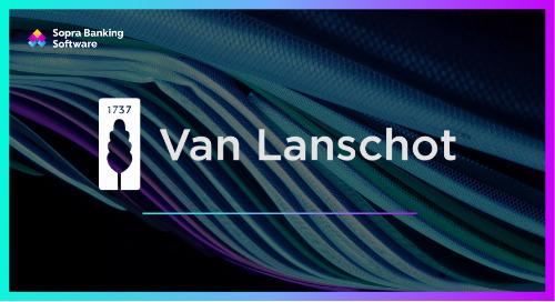 Van Lanschot chose us as its digital transformation partner of choice, leveraging our cutting-edge digital banking platform