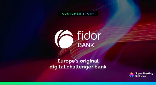 Avec notre aide, Fidor a lancé la première banque challenger d'Europe. Lisez l'article complet pour en savoir plus
