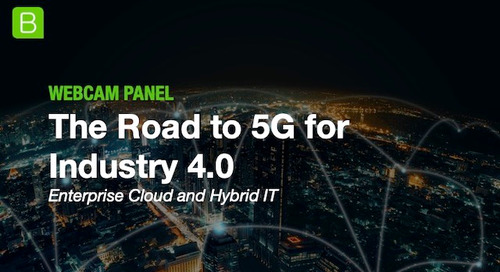 The Road to 5G for Industry 4.0