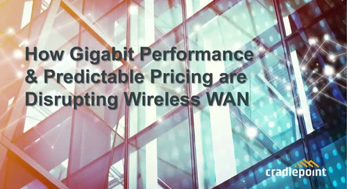How Gigabit Speeds and Predictable Pricing are Disrupting Wireless WAN