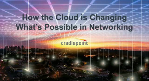 How the Cloud is Changing What's Possible in Networking