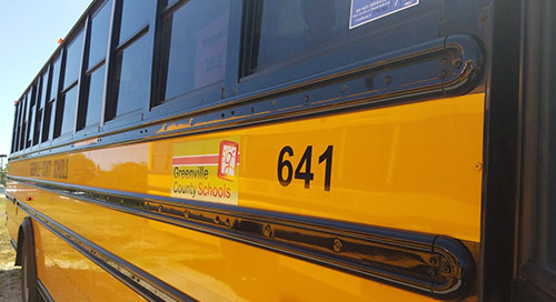 Greenville County Schools Turn Bus Time into Learning Time
