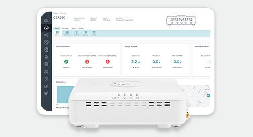 NetCloud Branch 5G/LTE Adapter Service Plan Features