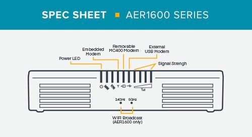 AER1600 Series Spec Sheet