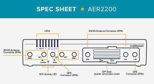 AER2200 Spec Sheet