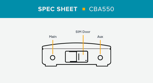 CBA550 Spec Sheet